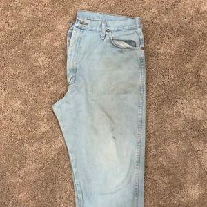 Wrangler work jeans